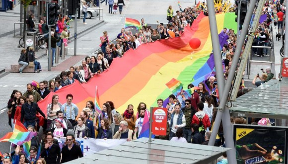 Cork Pride Parade is an opportunity to celebrate our inclusive, creative and diverse city