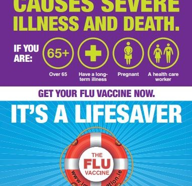 Buttimer encourages older people in Cork to get the flu vaccine and keep healthy and safe this winter